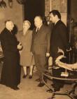 Cavalier Prata, Giancarlo con moglie e Cardinal Lercaro